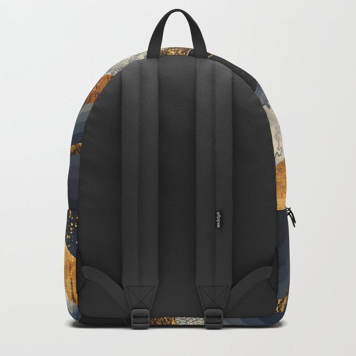 Metallic Mountains Backpack