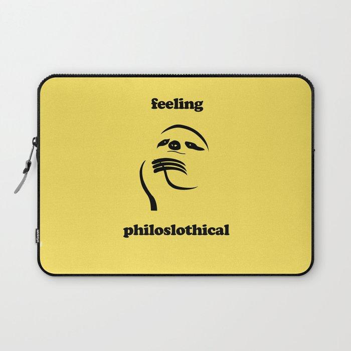 Feeling Philoslothical Laptop Sleeve