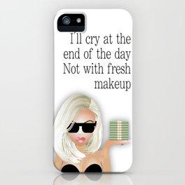 Blonde Stacks iPhone Case