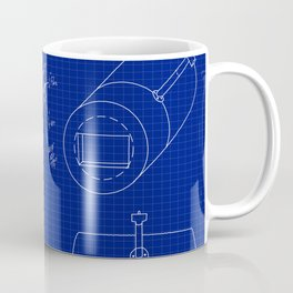 Forge Blueprint Coffee Mug