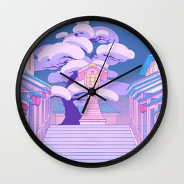 Stairway to the Spirit World Wall Clock