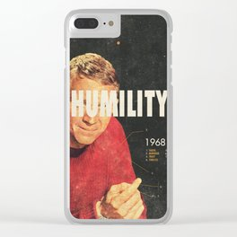 Humility 1968 Clear iPhone Case