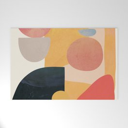 Modern Abstract Art 70 Welcome Mat