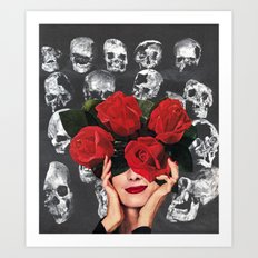 IMMORTELLE Art Print