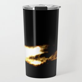 Dragon in a clouds. Travel Mug