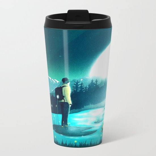 Lost in the Moment Metal Travel Mug