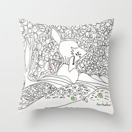 Lobito Throw Pillow