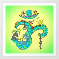 No Place Like Om Art Print