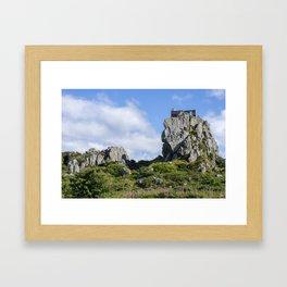 Roche Rock chapel 1 Framed Art Print