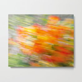 Colorful Strokes 3 (Autumn Whispers) Metal Print