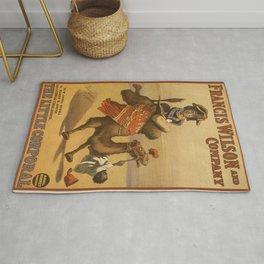 Vintage poster - The Little Corporal Rug