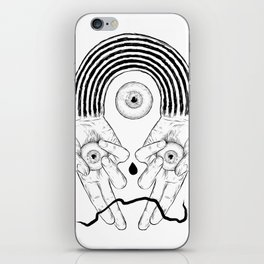 Black Rainbow Holiday Special. iPhone Skin