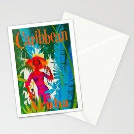 Vintage Caribbean Travel - Aruba Stationery Cards