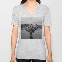 Cholla Cactus Garden XVII Unisex V-Neck