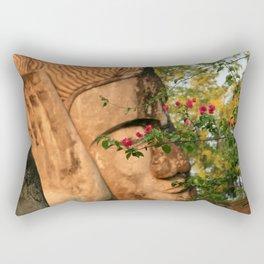 Zen Buddha Sleeping Rectangular Pillow