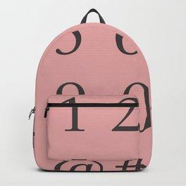 Sabon - Numbers Backpack