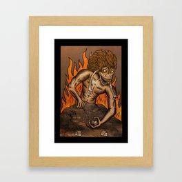 Hegemony Framed Art Print