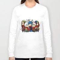 dmmd Long Sleeve T-shirts featuring Dmmd Christmas  by lilbutt