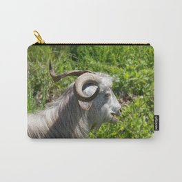 Side View of A Billy Goat Grazing Carry-All Pouch