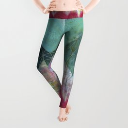 Mountain Winter Solstice Leggings