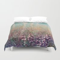 woodland Duvet Covers featuring Woodland by Claire Westwood illustration