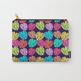 Monstera Deliciosa Print Carry-All Pouch