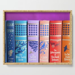 Classic Spines Serving Tray
