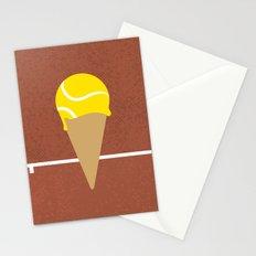 Tennis Ice Cream Stationery Cards