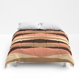 Harar in Peach Multi Comforters