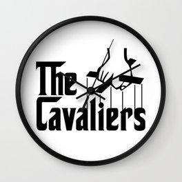 Godfather Cavs (Black) Wall Clock
