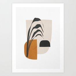 Abstract Shapes 3 Art Print