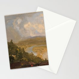 Sketch for View from Mount Holyoke, Northampton, Massachusetts, after a Thunderstorm (The Oxbow),183 Stationery Cards