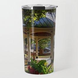 Saratoga, New York Travel Mug