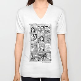 Love Comic for Marriage Equality Unisex V-Neck