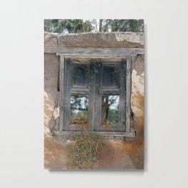 Window With No Glass Metal Print