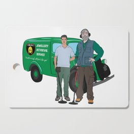 Russell & Hugh Jewellery Retrieval Service - DMDC - Detectorists Cutting Board
