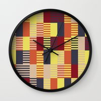 bauhaus Wall Clocks featuring Bauhaus by ohkj