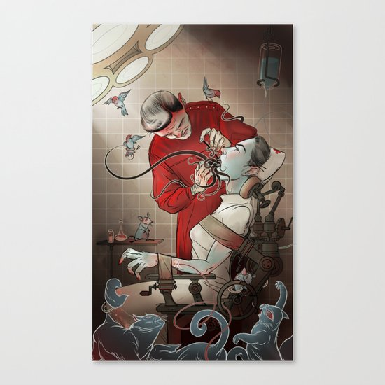 The Dentist Canvas Print