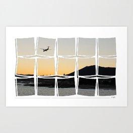 Hondarribi - H1 Art Print