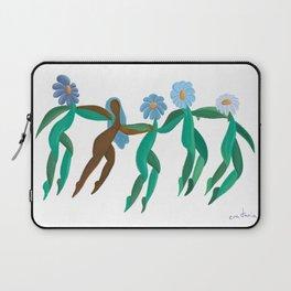 La danza de las flores Laptop Sleeve