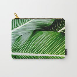 Palm Leaves Carry-All Pouch