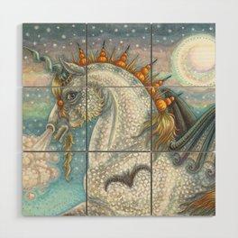 SPELLBOUND Gothic Halloween Unicorn Wood Wall Art