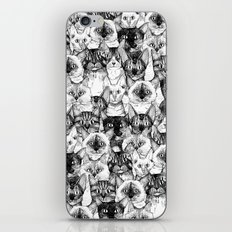 just cats iPhone & iPod Skin