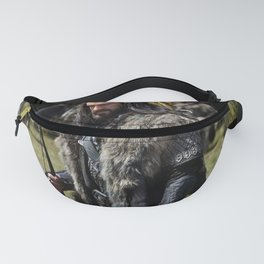 fighter man Fanny Pack