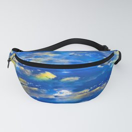 CLOUDS ABSTRACT Fanny Pack