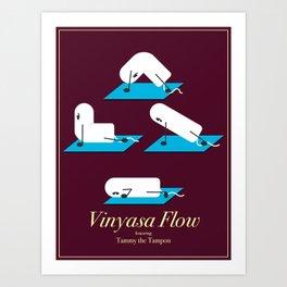 Vinyasa Flow with Tammy Art Print
