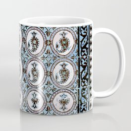 Decorative Iranian Tile Paisley Pattern Coffee Mug