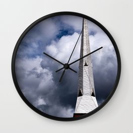 Single Spire Wall Clock