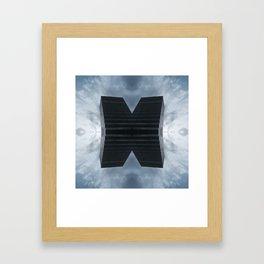 Monolit x 119 Framed Art Print
