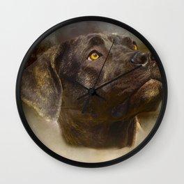 I Love My Perro de Presa Canario Wall Clock